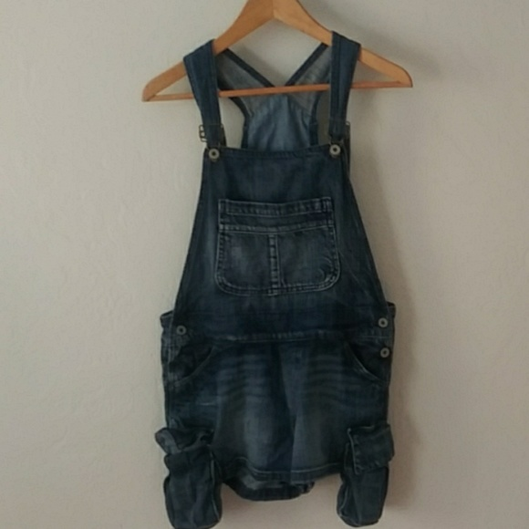 Chip & Pepper Denim - Chip & Pepper overall shorts with extra pockets